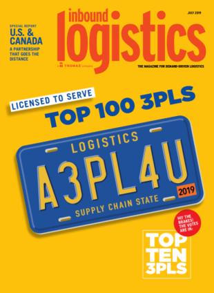 Inbound Logistics names ODW Logistics a TOP 100 3PL Provider